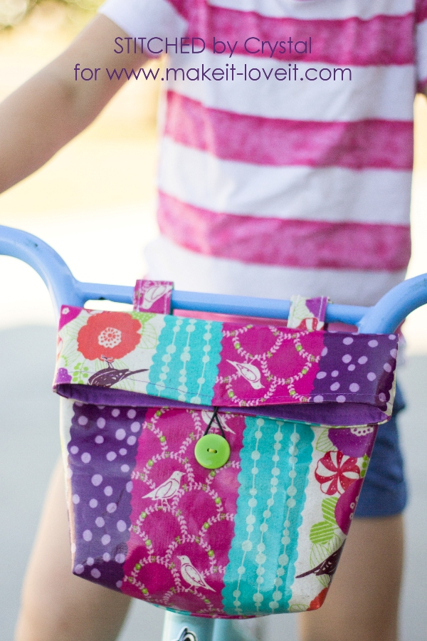 Handlebar Bag for Kids Bike from Make It and Love It