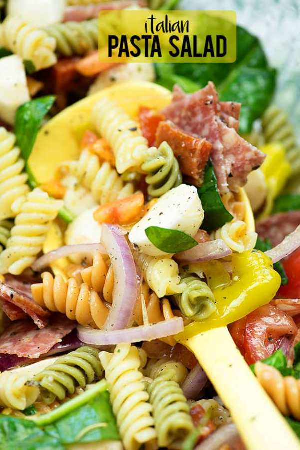 Italian Pasta Salad from Buns in my Oven