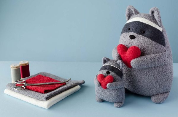 Raccoon Sewing Pattern from Fluffmonger