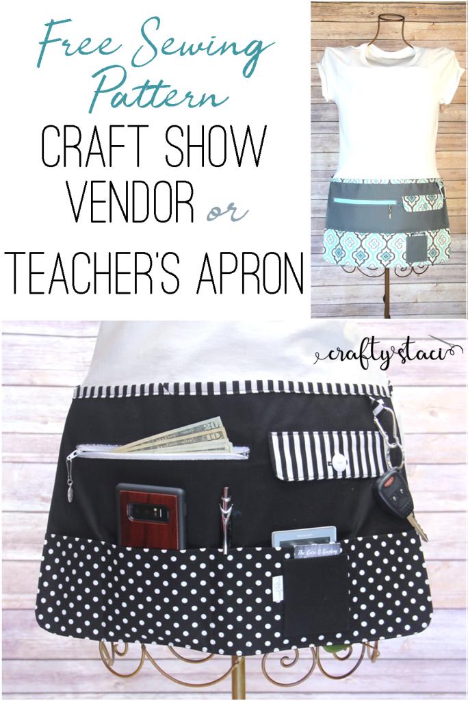 Craft Show Vendor Apron — Crafty Staci