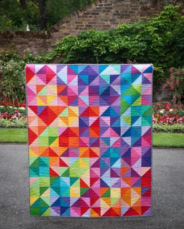 Postcard from Sweden Quilt Pattern from Jeli Quilts on Craftsy