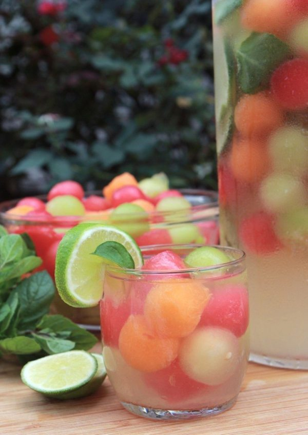 Melon Ball Punch from Divas Can Cook