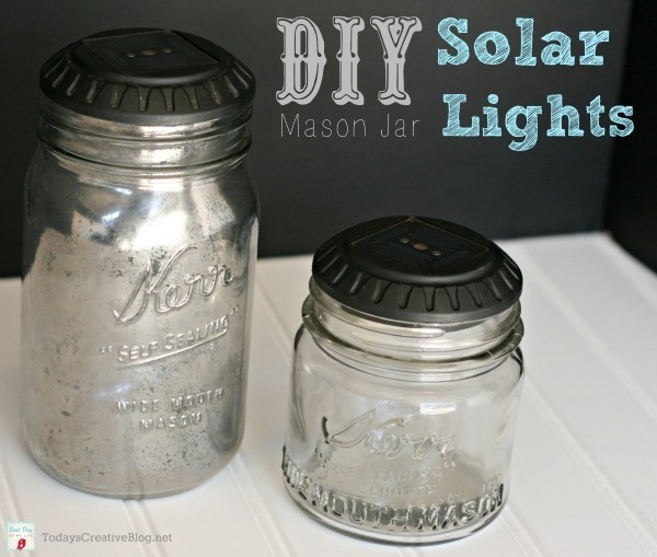 Mason Jar Solar Lights from Today's Creative Life