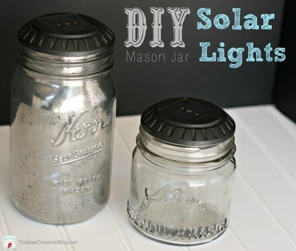 Mason Jar Solar Lights from Today's Creative Life