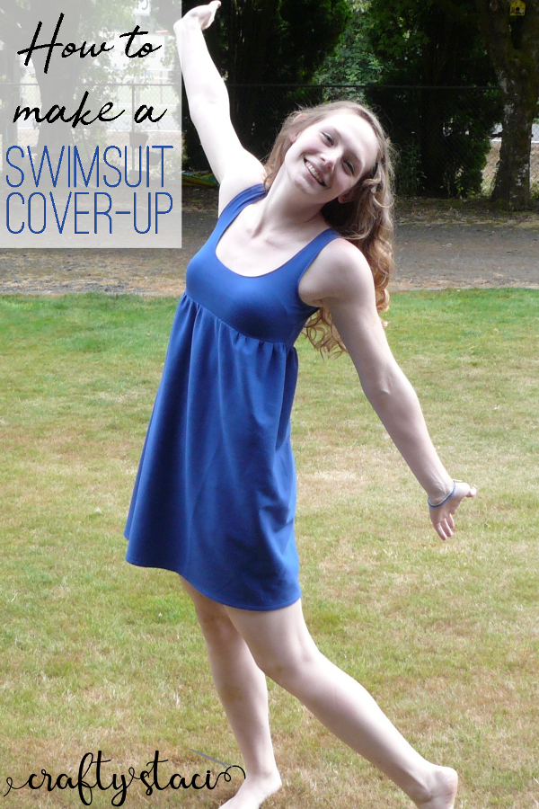 How to Make a Swimsuit Cover-Up from craftystaci.com #summersewing
