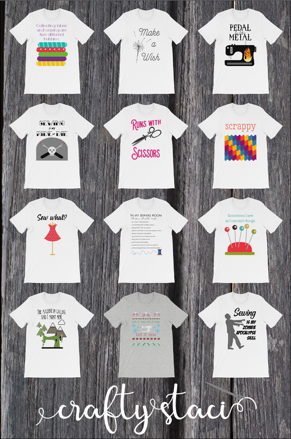 Sewing T-Shirts from craftystaci.com #giftsforpeoplewhosew #giftsforsewers #giftsforsewists #giftsforquilters