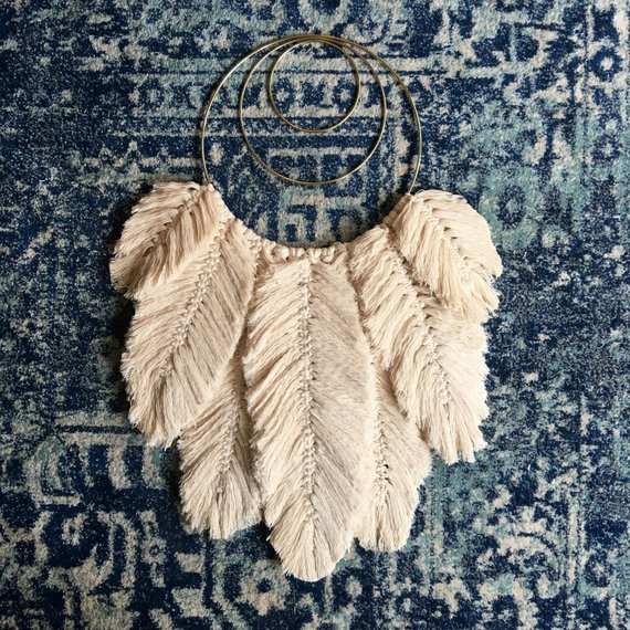Macrame Feather Pattern from naecogreen