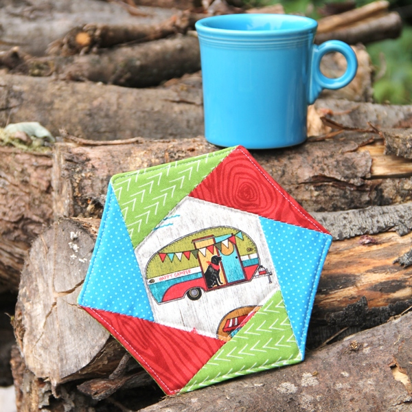 Hexagon Mug Mat from Crafty Staci