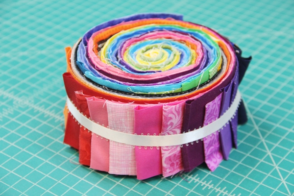 Sad rainbow jelly roll