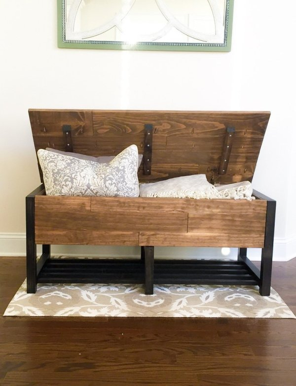 Entry Storage Chest from Ana White