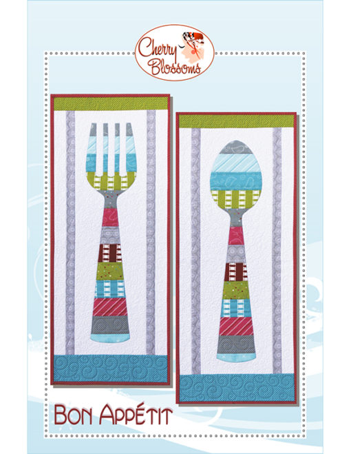 Bon Appetit Pattern from Cherry Blossoms Quilting Studio