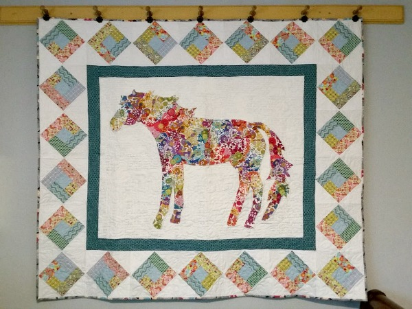 Collage Quilt from Patchwork Posse