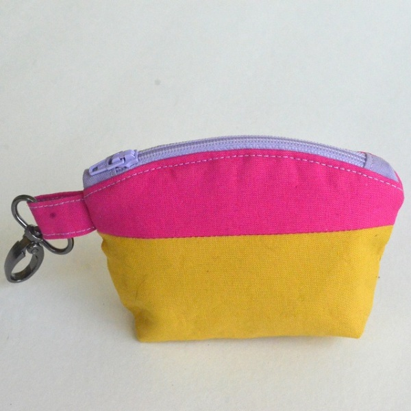 Color Block Mini Zip Pouch from Orange Bettie.jpg