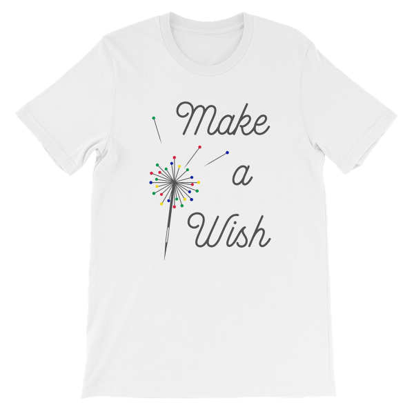 Make a Wish T-Shirt from craftystaci.com #sewingshirt #sewingtshirt