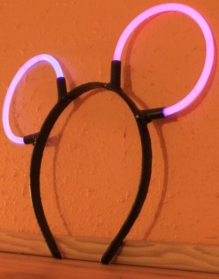DIY Glowing Mickey Ears - Crafty Staci