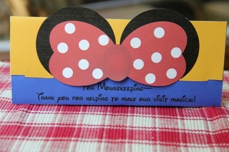Mickey and Minnie Mousekeeping Tip Envelopes - Crafty Staci 7