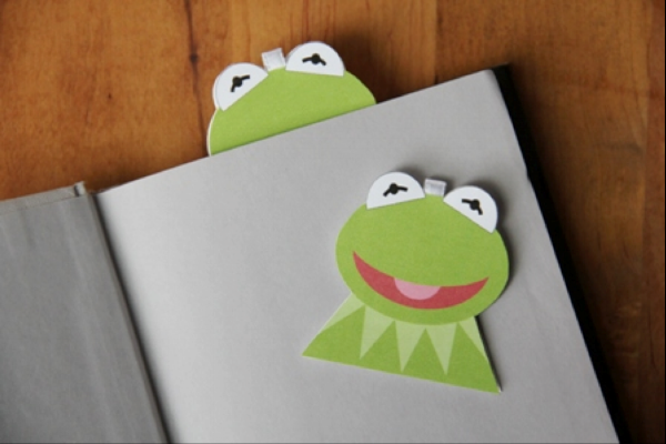 Kermit in book