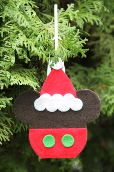 Mickey Caramel Apple Ornament