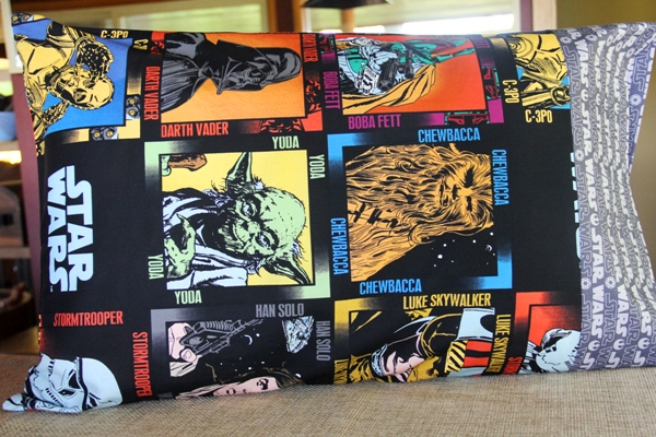 Star Wars Pillowcase from Crafty Staci