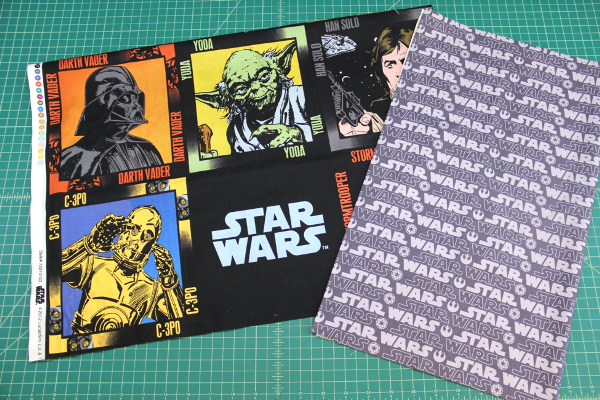 Press cuff seam of Star Wars Pillowcase - Crafty Staci