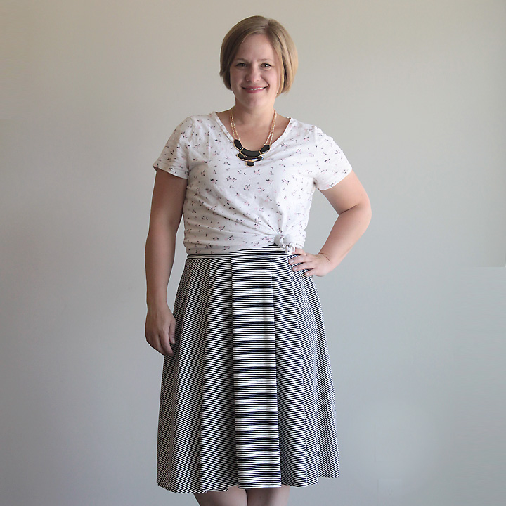 Pleated Midi Skirt from It's Always Autumn