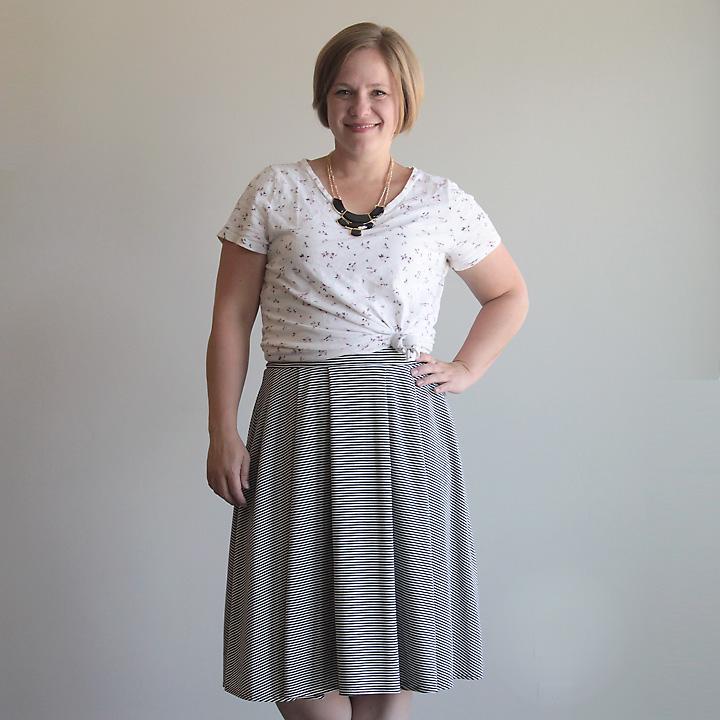 Pleated Midi Skirt from It's Always Autumn