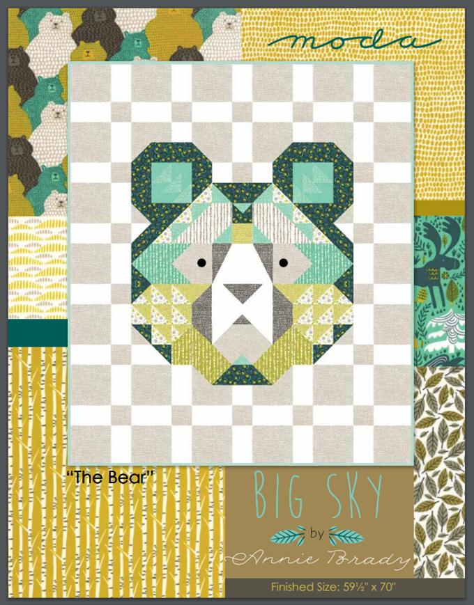 Big Sky Bear Quilt Pattern by Annie Brady for Moda