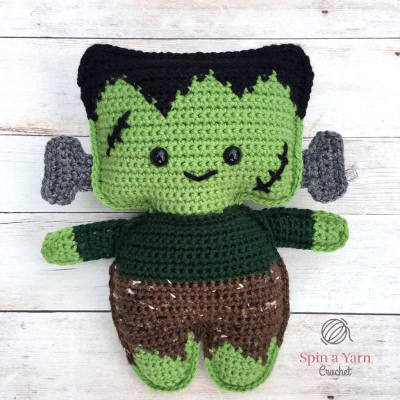 Frankenstein's Monster from Spin a Yarn Crochet