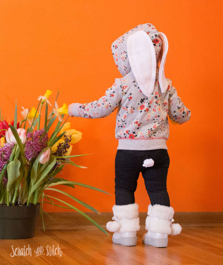 Kids Bunny Outfit from Scratch and Stitch