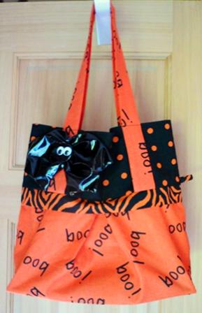 Halloween Trick-or-Treat Bag - Crafty Staci