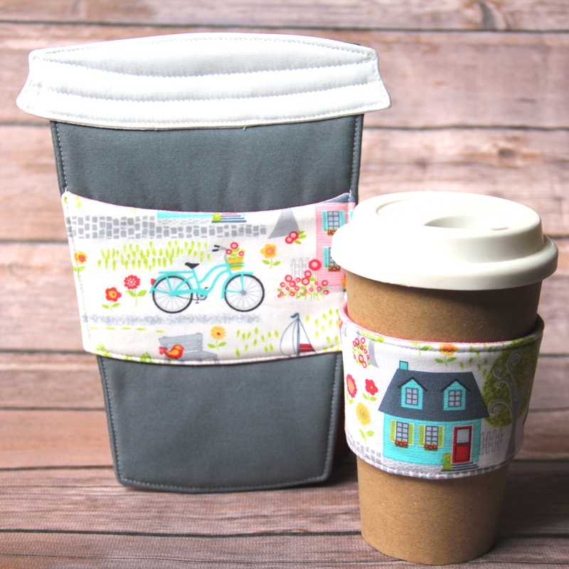 To Go Cup Mug Mat and Coffee Cup Sleeve from craftystaci.com