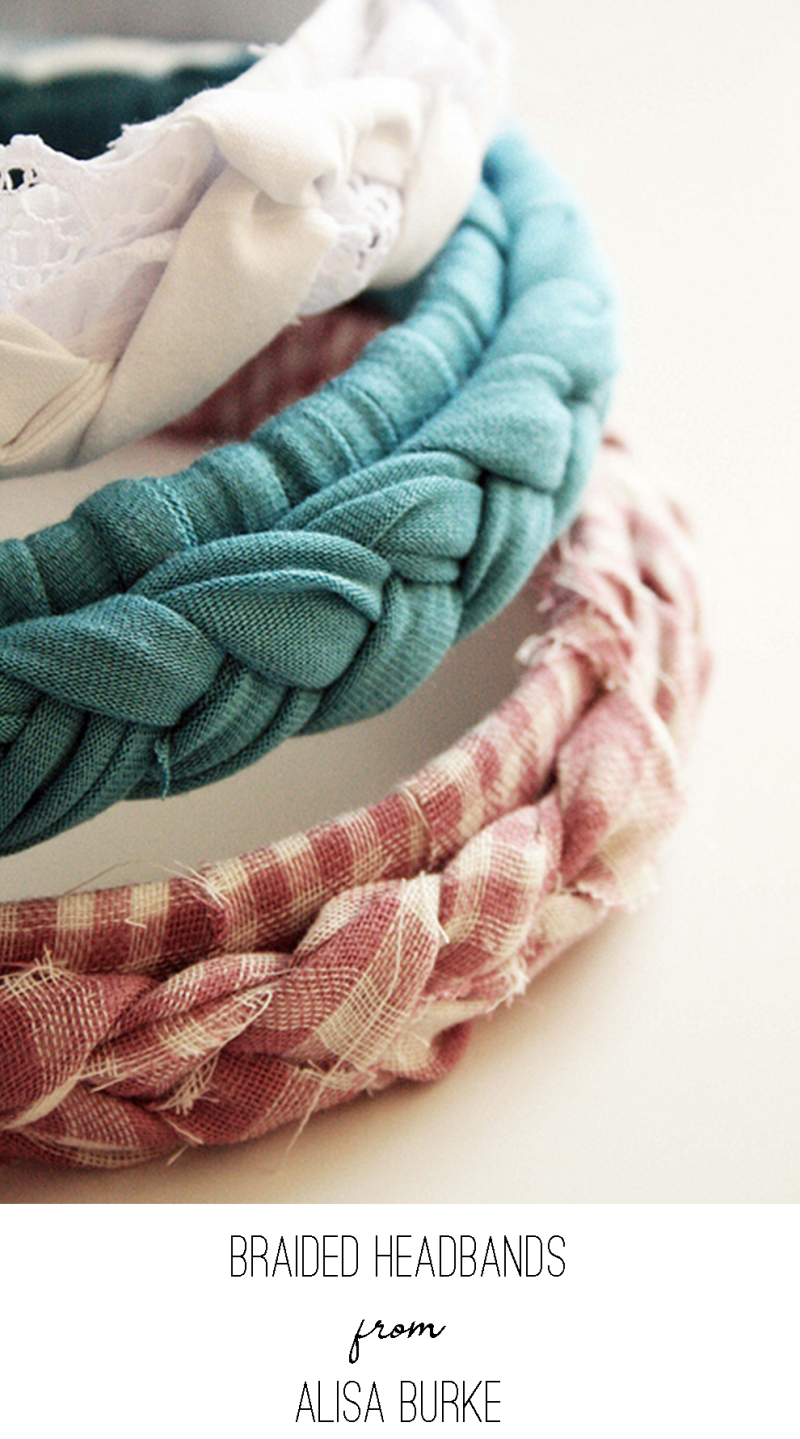 Braided Headbands from Alisa Burke