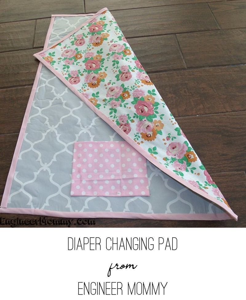 Diaper Changing Pad from Engineer Mommy