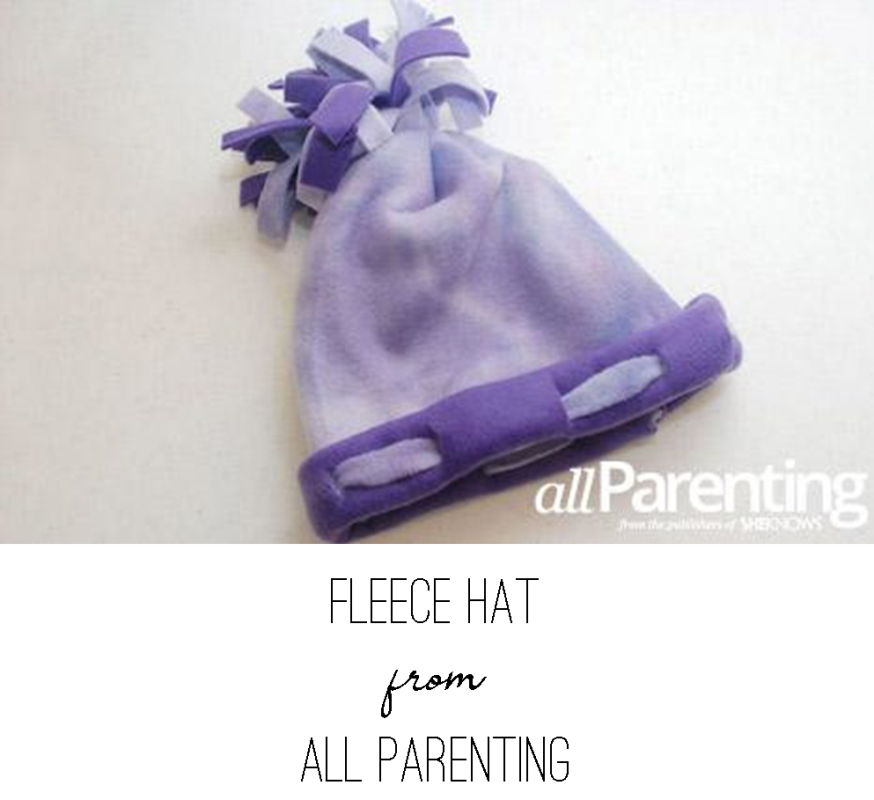 Fleece Hat from All Parenting