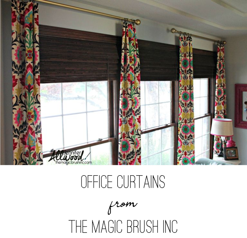 Office Curtains from The Magic Brush Inc