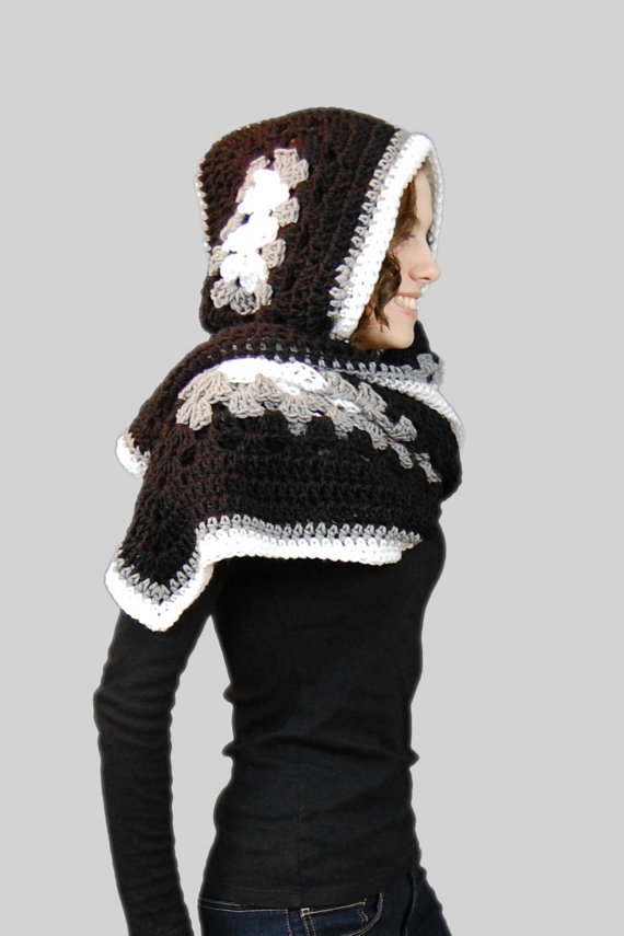 Hoodies Scarf Crochet Pattern from Stitch and Hustle