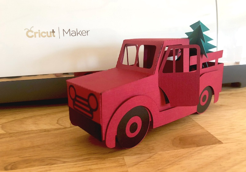 3D Christmas Truck from Caluya Design