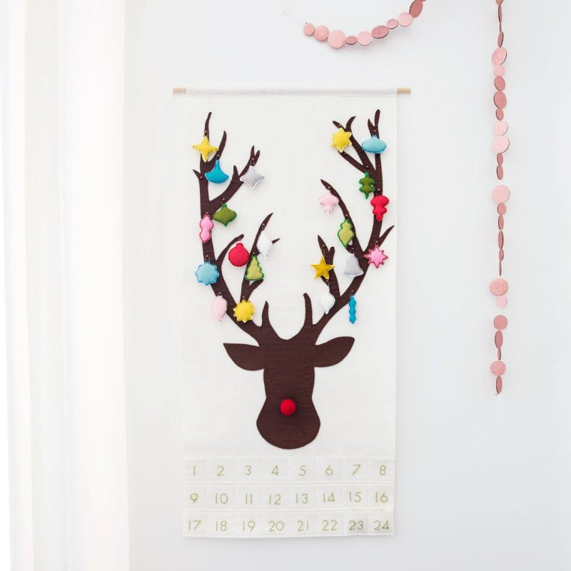 Reindeer Advent Calendar Pattern from SugarHouseShop
