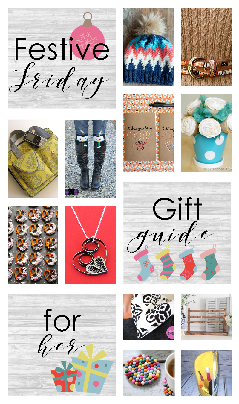 Festive Friday No. 410 - Gifts for Her from craftystaci.com #festivefriday #fridayfavorites