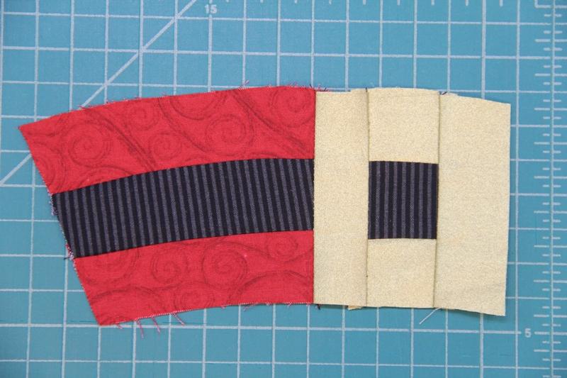 123 sewn to 45678