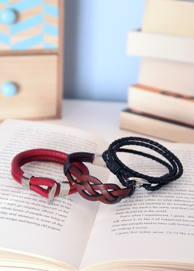Leather Bracelets for Guys from Curly Made