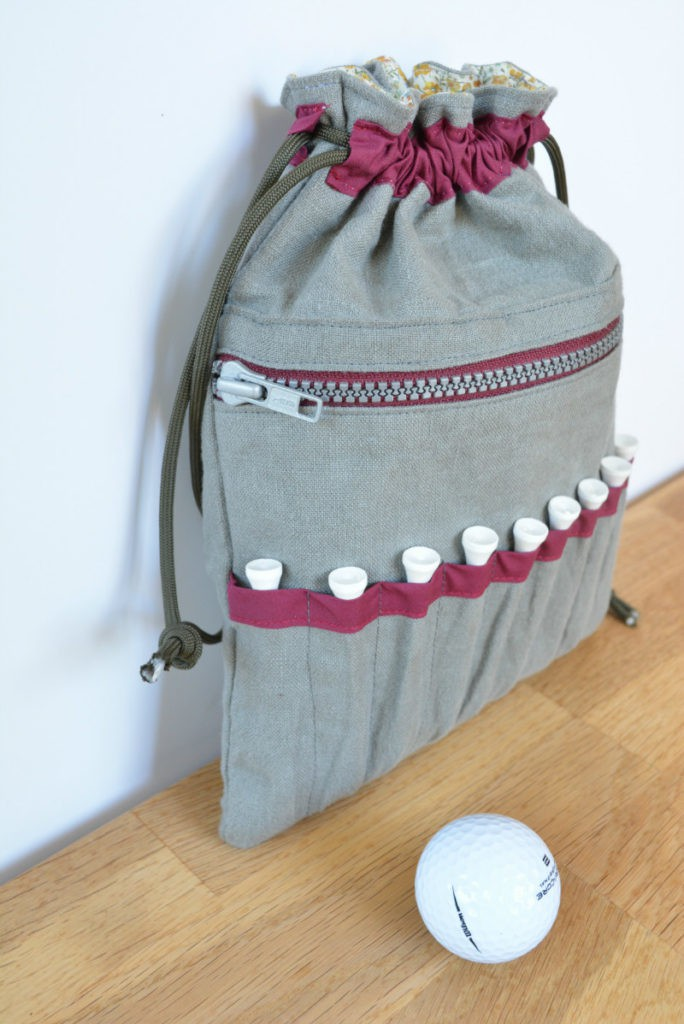 DIY Golf Bag from Vicky Myers Creations