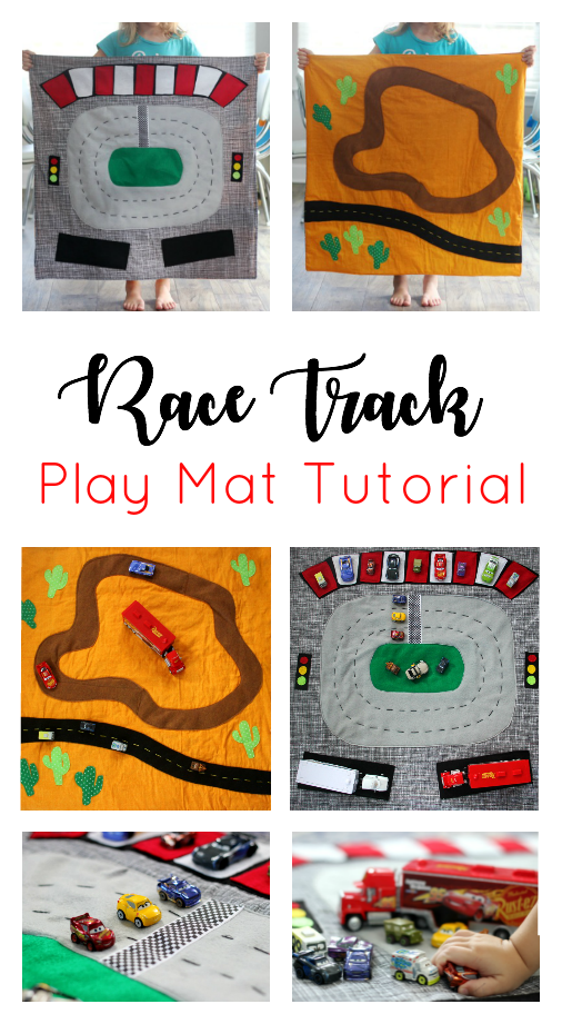 Double Sided Race Track from Gluesticks
