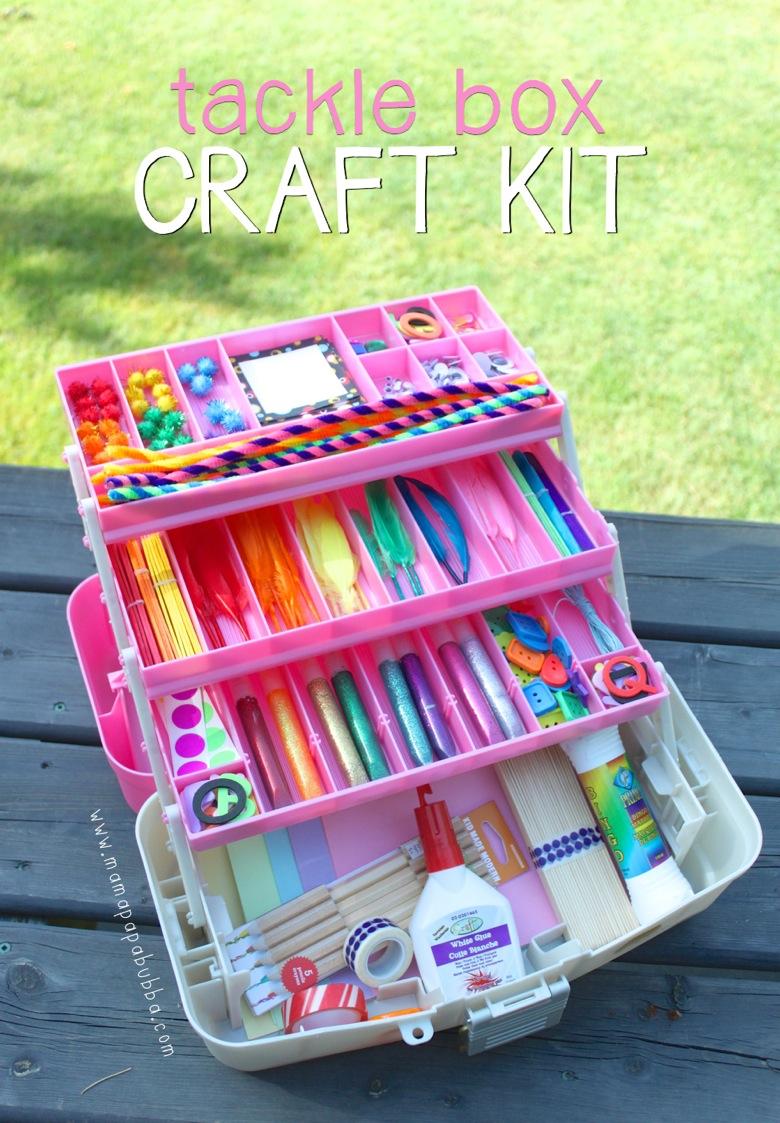 Tackle Box Craft Kit from Mama Papa Bubba