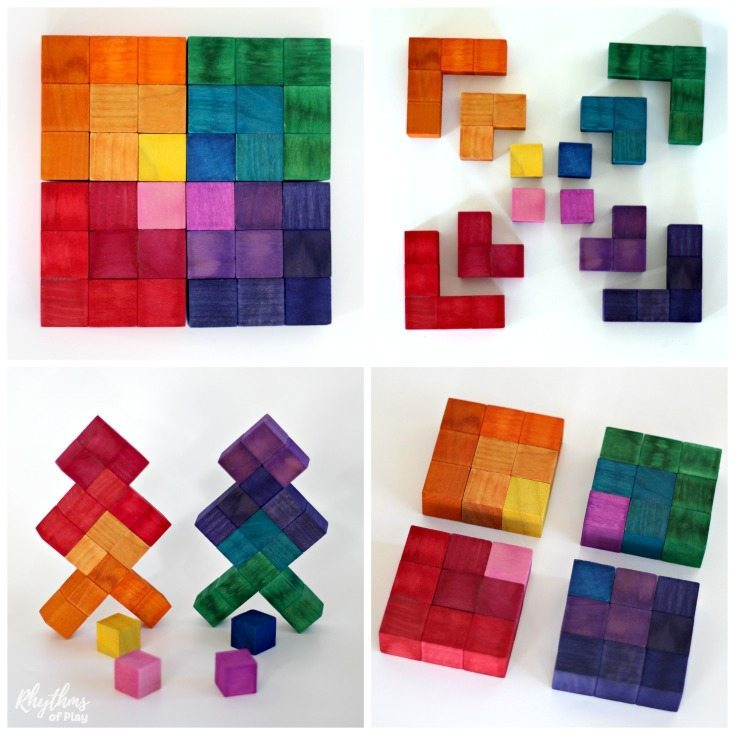 Waldorf Square Puzzle from Rhythms of Play