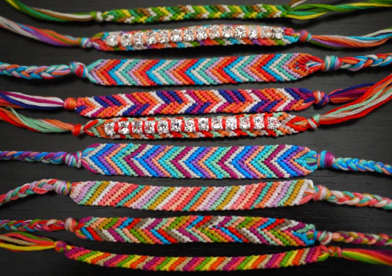 DIY Friendship Bracelets from Honestly WTF