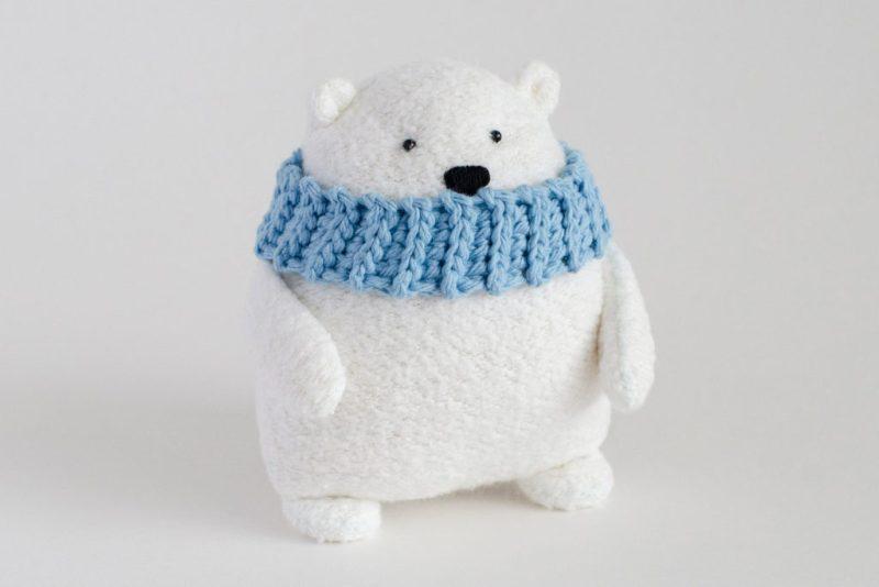 Mr. Foofs the Polar Bear from Fluffmonger