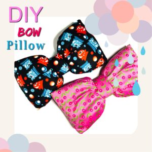 Bow Pillow from Sew Cute Patterns