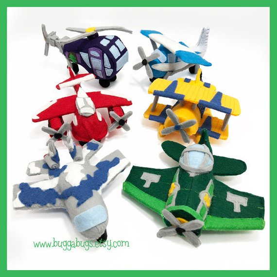 Planes Sewing Pattern from BuggaBugs