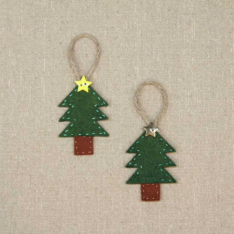 Christmas Tree Ornaments from craftystaci.com